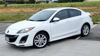 2009 Mazda 3 BL10L1 SP25 Activematic White 5 Speed Sports Automatic Sedan