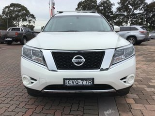 2014 Nissan Pathfinder R52 MY14 ST X-tronic 2WD White 1 Speed Constant Variable SUV Hybrid