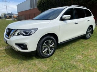 2018 Nissan Pathfinder R52 MY17 Series 2 ST (4x2) Continuous Variable Wagon.
