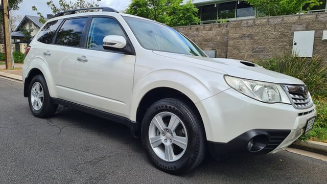 Used Subaru Forester MY12 2.0D Prospect, 2012 Subaru Forester MY12 2.0D Alberta White 6 Speed Manual Wagon