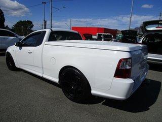 2011 Ford Falcon FG XR6 Ute Super Cab Turbo White 6 Speed Manual Utility.