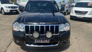 2010 Jeep Grand Cherokee WH MY08 Limited (4x4) Black 5 Speed Automatic Wagon.