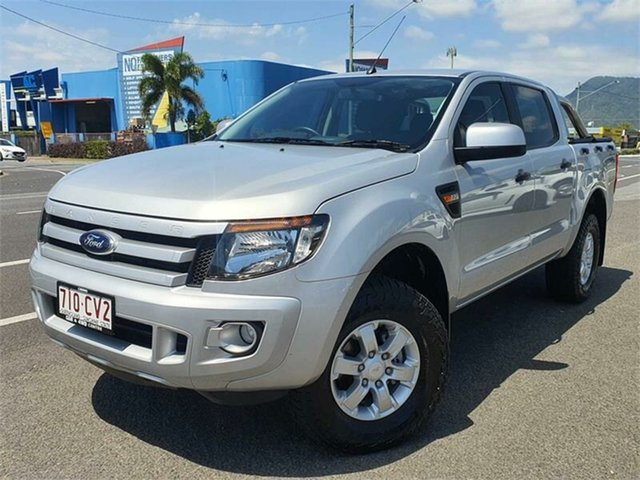Used Ford Ranger PX XLS Bungalow, 2014 Ford Ranger PX XLS Silver 6 Speed Sports Automatic Utility
