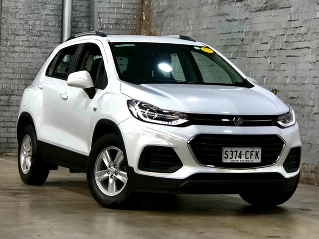 Used Holden Trax TJ MY17 LS Mile End South, 2017 Holden Trax TJ MY17 LS White 6 Speed Automatic Wagon