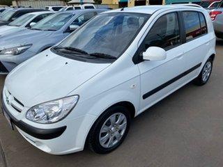 2006 Hyundai Getz TB Upgrade 1.6 White 4 Speed Automatic Hatchback