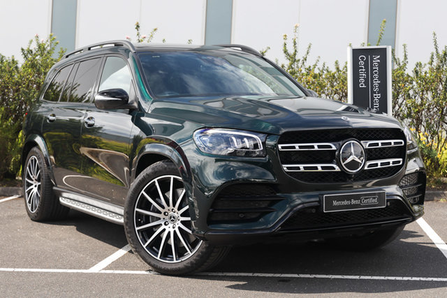 Certified Pre-Owned Mercedes-Benz GLS-Class X167 801MY GLS450 9G-Tronic 4MATIC Mulgrave, 2021 Mercedes-Benz GLS-Class X167 801MY GLS450 9G-Tronic 4MATIC Emerald Green 9 Speed