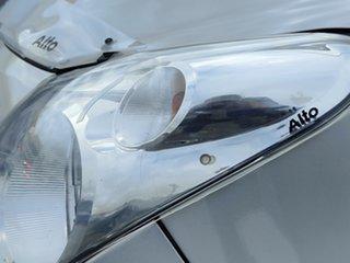 2011 Suzuki Alto GF GL Silver 5 Speed Manual Hatchback