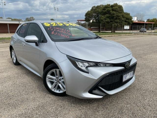 Used Toyota Corolla Mzea12R Ascent Sport Wangaratta, 2018 Toyota Corolla Mzea12R Ascent Sport Silver Pearl Continuous Variable Hatchback