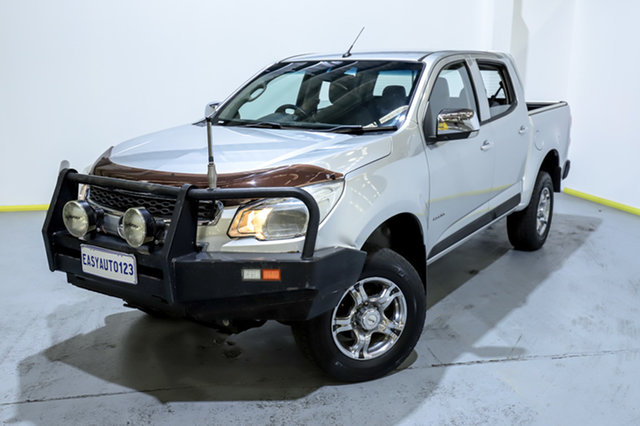 Used Holden Colorado RG MY14 LT Crew Cab Canning Vale, 2014 Holden Colorado RG MY14 LT Crew Cab Grey 6 Speed Manual Utility