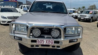 1998 Toyota Landcruiser FZJ105R GXL (4x4) Silver 4 Speed Automatic 4x4 Wagon.