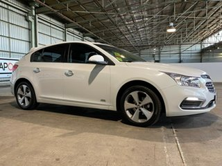 2016 Holden Cruze JH Series II MY16 Z-Series White 6 Speed Sports Automatic Hatchback.