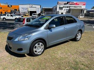 2010 Toyota Yaris NCP93R MY11 YRS Blue 4 Speed Automatic Sedan.