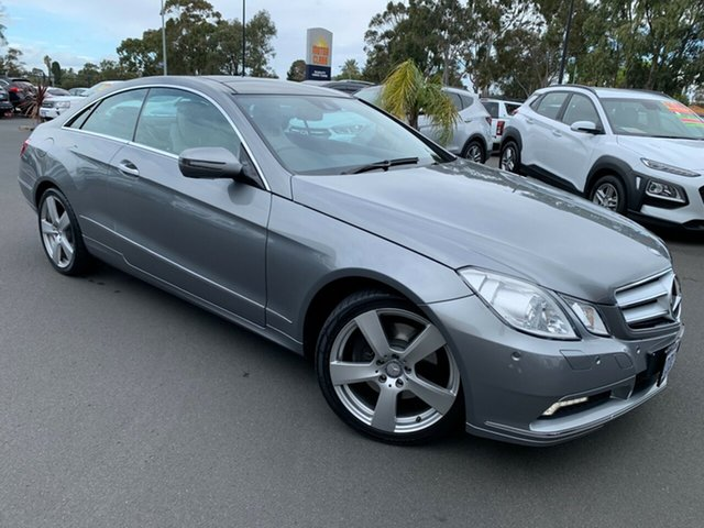 Used Mercedes-Benz E-Class C207 E350 7G-Tronic Avantgarde Bunbury, 2009 Mercedes-Benz E-Class C207 E350 7G-Tronic Avantgarde Grey 7 Speed Sports Automatic Coupe