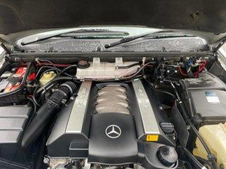 2001 Mercedes-Benz M-Class W163 ML55 AMG Silver 5 Speed Sports Automatic Wagon