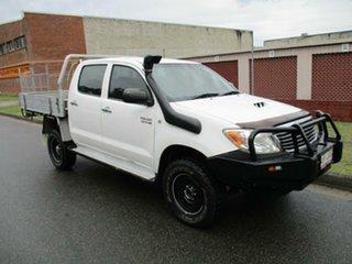 2006 Toyota Hilux KUN26R MY05 SR White 4 Speed Automatic Utility.