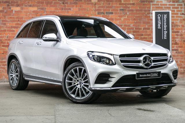Certified Pre-Owned Mercedes-Benz GLC-Class X253 808MY GLC250 d 9G-Tronic 4MATIC Mulgrave, 2017 Mercedes-Benz GLC-Class X253 808MY GLC250 d 9G-Tronic 4MATIC Iridium Silver 9 Speed