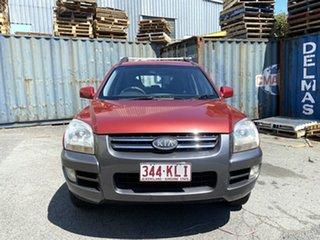 2005 Kia Sportage KM Red 4 Speed Sports Automatic Wagon