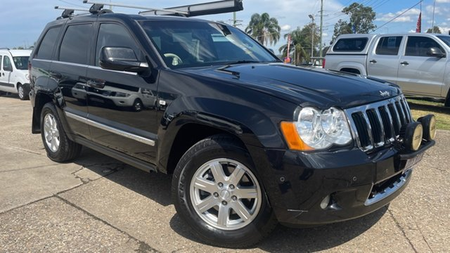 Used Jeep Grand Cherokee WH MY08 Limited (4x4) Loganholme, 2010 Jeep Grand Cherokee WH MY08 Limited (4x4) Black 5 Speed Automatic Wagon
