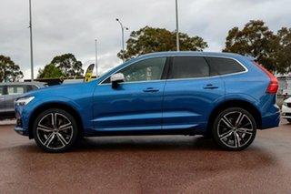2019 Volvo XC60 UZ MY19 T6 AWD R-Design Blue 8 Speed Sports Automatic Wagon.