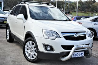 2012 Holden Captiva CG Series II 5 AWD White 6 Speed Sports Automatic Wagon.
