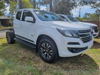 2019 Holden Colorado RG MY19 LS (4x2) (5Yr) White 6 Speed Automatic Crew Cab Chassis.