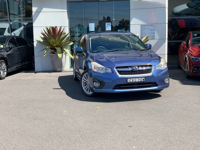 Used Subaru Impreza G4 MY14 2.0i-S Lineartronic AWD Sutherland, 2014 Subaru Impreza G4 MY14 2.0i-S Lineartronic AWD Blue 6 Speed Constant Variable Hatchback
