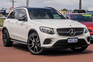 2018 Mercedes-Benz GLC-Class X253 809MY GLC43 AMG 9G-Tronic 4MATIC White 9 Speed Sports Automatic.
