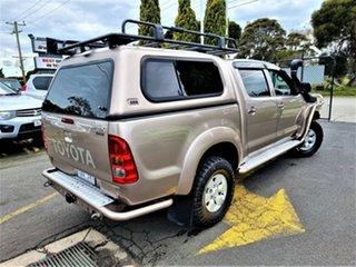 2006 Toyota Hilux KUN26R MY07 SR5 Brown 5 Speed Manual Utility.