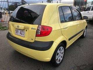 2007 Hyundai Getz TB Upgrade 1.6 Yellow 5 Speed Manual Hatchback.