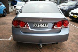 2007 Honda Civic MY07 VTi-L Blue 5 Speed Automatic Sedan