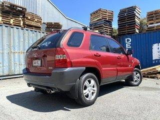 2005 Kia Sportage KM Red 4 Speed Sports Automatic Wagon.