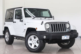 2014 Jeep Wrangler JK MY2014 Freedom White 5 Speed Automatic Softtop.