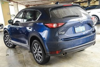 2017 Mazda CX-5 KE1032 Akera SKYACTIV-Drive i-ACTIV AWD Blue 6 Speed Sports Automatic Wagon