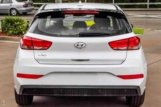 2021 Hyundai i30 PD.V4 MY22 White 6 Speed Sports Automatic Hatchback.