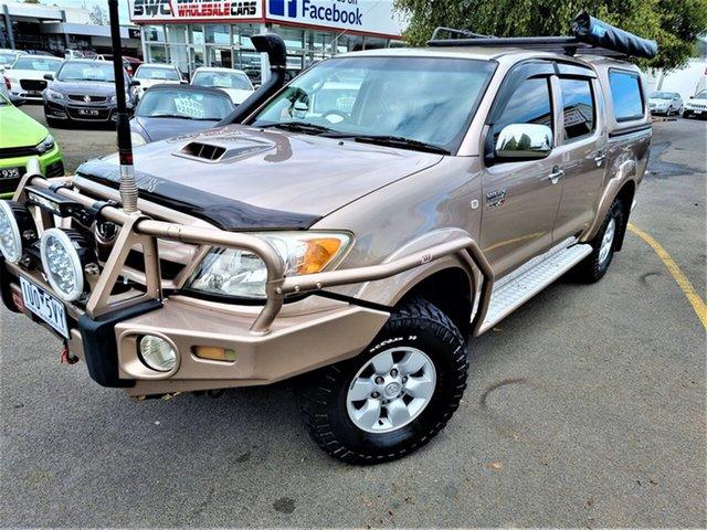 Used Toyota Hilux KUN26R MY07 SR5 Seaford, 2006 Toyota Hilux KUN26R MY07 SR5 Brown 5 Speed Manual Utility