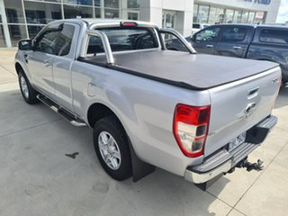 2012 Ford Ranger PX XLT Super Cab Silver 6 Speed Sports Automatic Utility