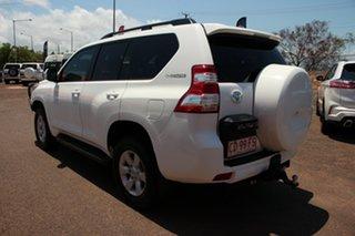 2015 Toyota Landcruiser Prado KDJ150R MY14 GXL Glacier White 5 Speed Automatic Wagon