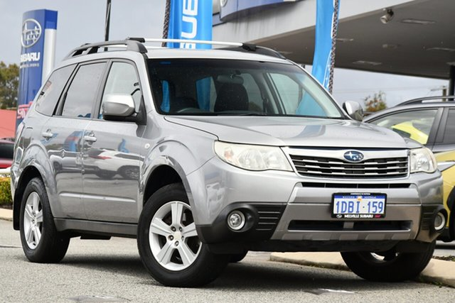 Used Subaru Forester S3 MY09 XS AWD Melville, 2009 Subaru Forester S3 MY09 XS AWD Steel Silver 4 Speed Sports Automatic Wagon