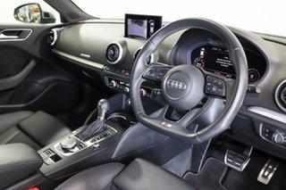 2018 Audi S3 8V MY18 Sportback S Tronic Quattro Grey 7 Speed Sports Automatic Dual Clutch Hatchback
