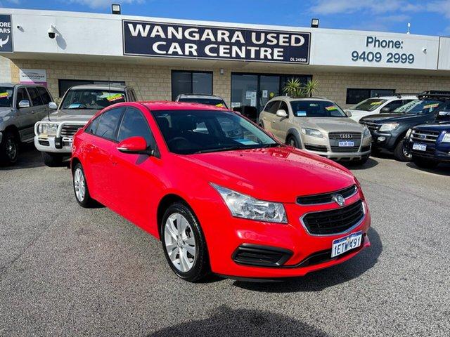 Used Holden Cruze JH MY15 Equipe Wangara, 2015 Holden Cruze JH MY15 Equipe Red 6 Speed Automatic Sedan