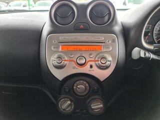 2013 Nissan Micra K13 MY13 ST-L Purple 4 Speed Automatic Hatchback