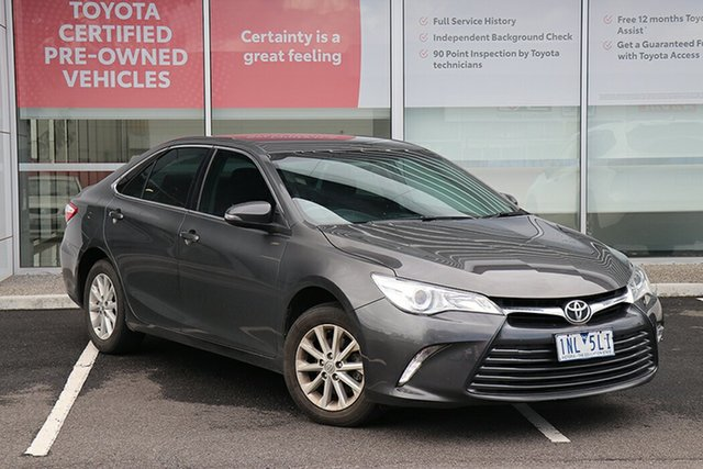 Pre-Owned Toyota Camry ASV50R Altise South Morang, 2017 Toyota Camry ASV50R Altise Graphite 6 Speed Sports Automatic Sedan
