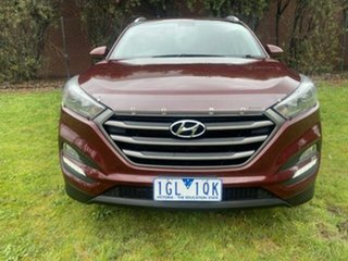 2016 Hyundai Tucson TL TUCSON WG ACTIVE X 2.0P AUTO Ruby Wine 6 Speed Automatic Wagon.