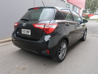 2018 Toyota Yaris NCP130R Ascent Black 4 Speed Automatic Hatchback