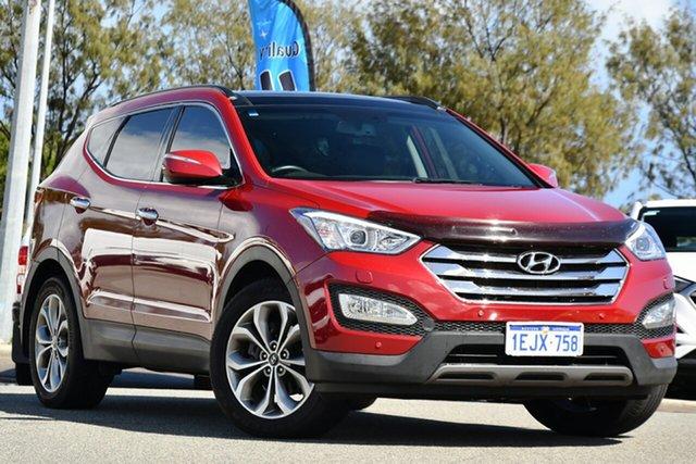 Used Hyundai Santa Fe DM MY14 Highlander Clarkson, 2014 Hyundai Santa Fe DM MY14 Highlander Red 6 Speed Sports Automatic Wagon