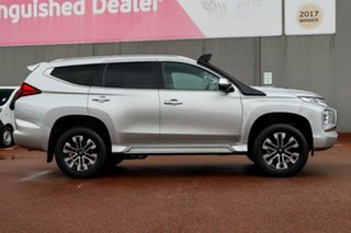 2019 Mitsubishi Pajero Sport QF MY20 Exceed Silver 8 Speed Sports Automatic Wagon.