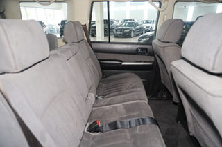 2012 Nissan Patrol GU 7 MY10 ST White 5 Speed Manual Wagon