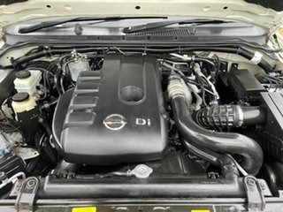 2008 Nissan Navara D40 RX White 5 Speed Automatic Utility