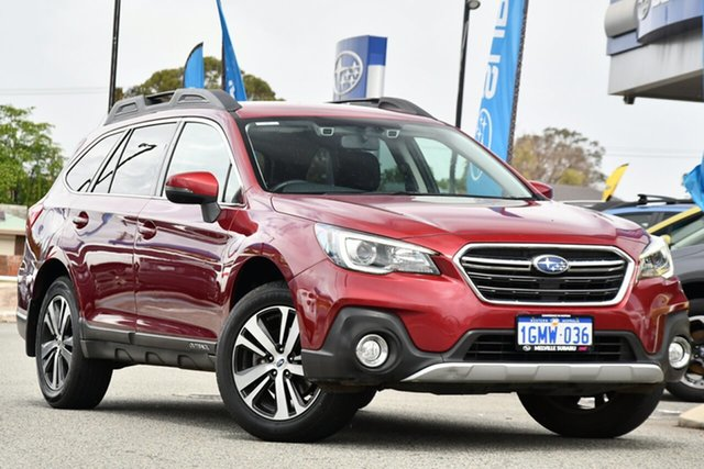 Used Subaru Outback B6A MY18 2.5i CVT AWD Melville, 2018 Subaru Outback B6A MY18 2.5i CVT AWD Crimson Red 7 Speed Constant Variable Wagon