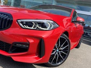 2020 BMW 118i F40 M Sport Melbourne Red 7 Speed Auto Dual Clutch Hatchback.